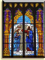 Assumption coronation window
